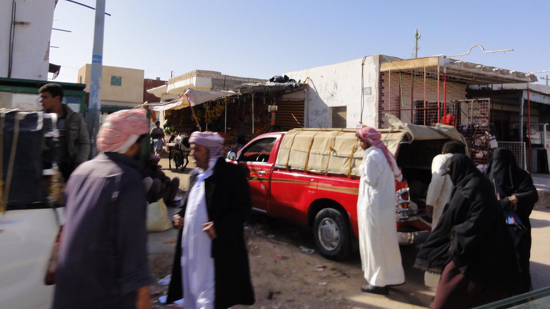 Sallum, a border town between Egypt an Libya